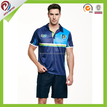 New design dry fit high quality golf polo t shirt manufacturer, custom cricket bowling uniform sublimated polo shirt