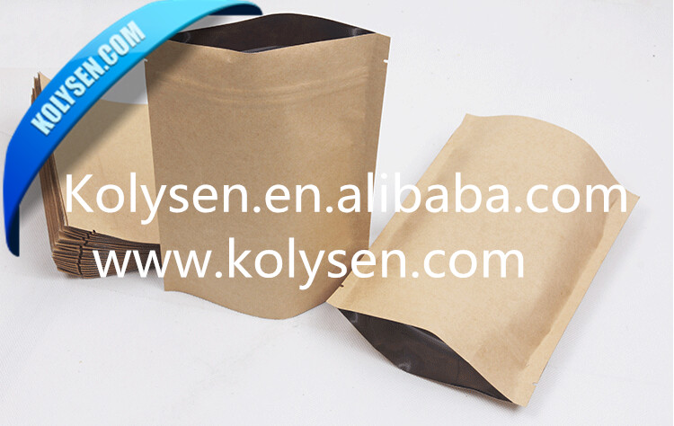 Food packaging kraft paper bag for cookies/coffee/chocolate/tea/<strong>chips</strong>