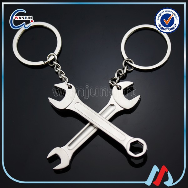 2016 metal wrench keychain bottle opener accessories