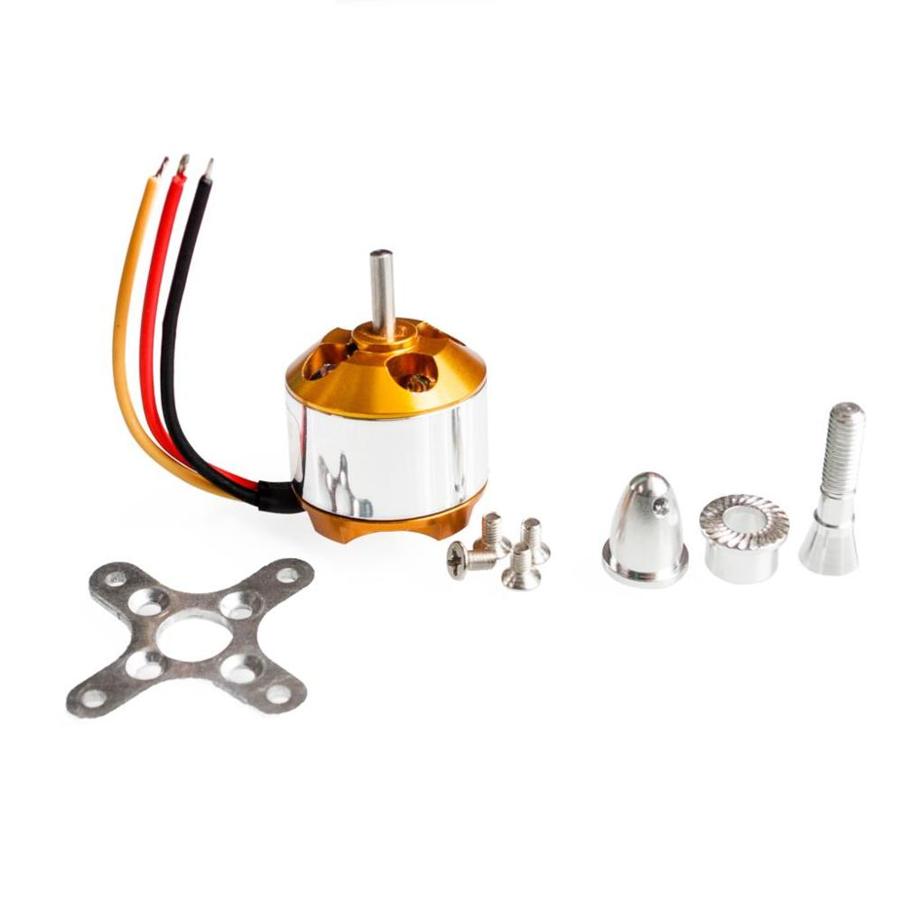 5set A2212 KV1000 Brushless Motor For RC Multirotor Aircraft Model Airplane Hobby 1000kv brushless motor free shipping