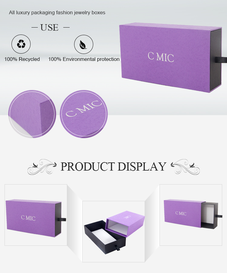 Custom Printed Empty Storage Recycle Carton Corrugated Cardboard Paper Watch Box