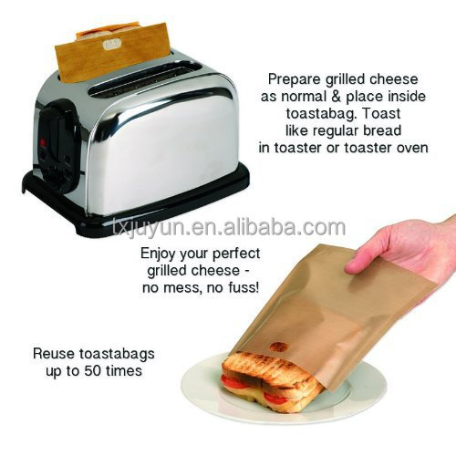 Toaster Oven Microwave Oven Ptfe Toast Bread Bag Sandwich