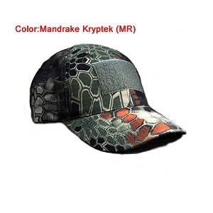 cb4e8ce9fb0 Get Quotations · H World Shopping Outdoor Adjustable Baseball Velcro Cap  Kryptek Camo Duty Hat for Military Army Tactical