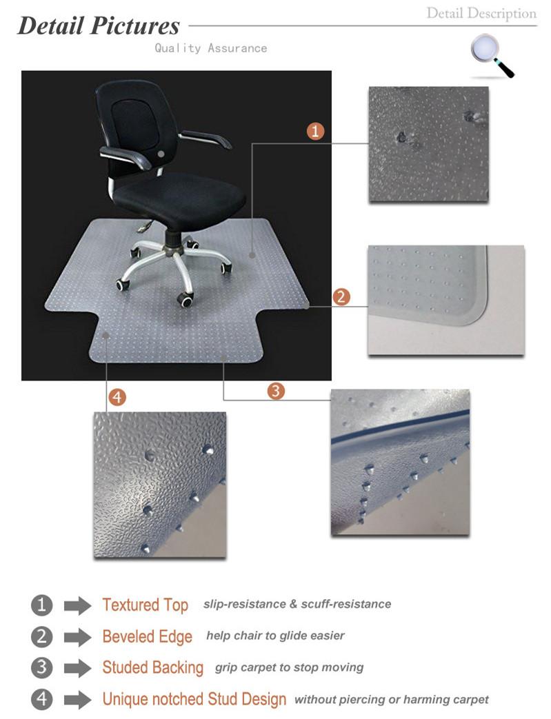 Hartplastik Bodenmatte Fur Burostuhl Polyethylen Matte Buy
