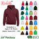 Wholesale Custom Fleece Cotton Basic Plain Dyed Men Printing Pullover Hoodies With Hood