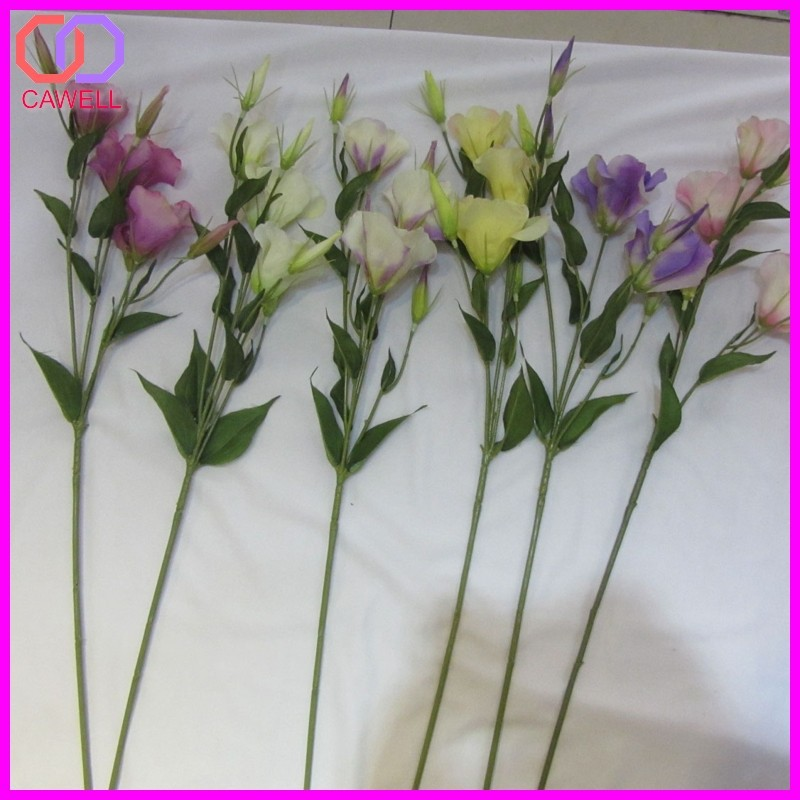 yiwu wholesale artificial Lisianthus flower