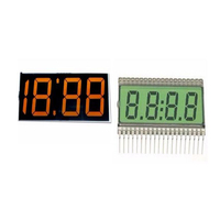 Clock LCD 4-segment digital display module Universal Brand new small of Bottom Price chip image sensor apter