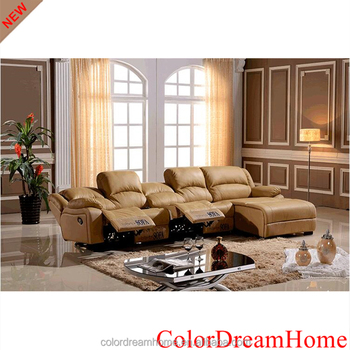 Fancy Leather Electric Recliner Sofa