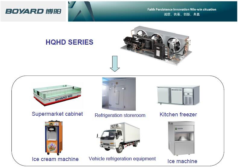 R404a Lanhai Mini Compressor Type Condensator Unit 1 Hp