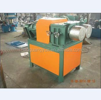 Higher efficiency tire bead wire separator for getting whole steel wire