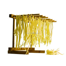 Bamboo Collapsible Pasta Drying Rack Spaghetti Dryer Stand Noodles Drying Holder Hanging Rack