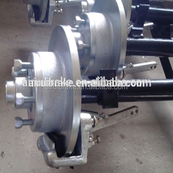 Round Straight Axle Assembly For Boat Trailer Complete With Disc Brake -  Buy Round Straight Axle,Disc Brake,Boat Trailer Axles For Sale Product on