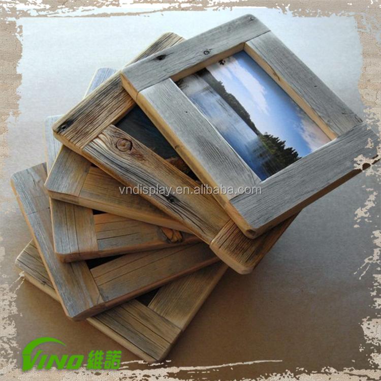 vintage style wood picture frames wholesale photo frame buy wood picture frames wholesale. Black Bedroom Furniture Sets. Home Design Ideas