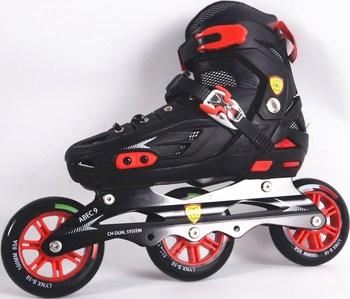 Gaya baru kecepatan roller Skating Inline sepatu roda dewasa grosir 608  bantalan roda 3fcfedf7c8