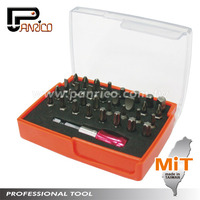 33pcs Screwdriver Bits Set with Socket Adapter Quick Release Stainless Magnetic Bit Holder