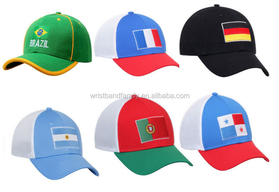 50d4af502638b Custom Football Teams Hats World Cup Country Flag Snapback Caps and Hats