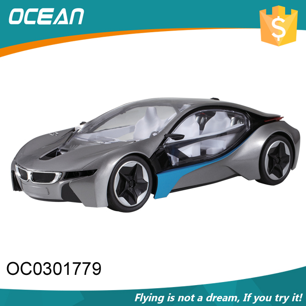 Steering wheel control kids cheap wholesale 1:14 rc car body with light