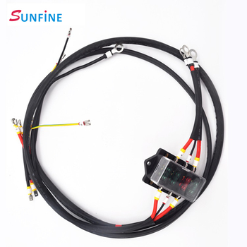 oem odm automotive wire harness loom with fuse holder