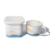2018 high quality enameled ceramic storage jar with lid