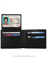 Genuine Leather RFID Blocking Wallets Mens Wallet Bifold