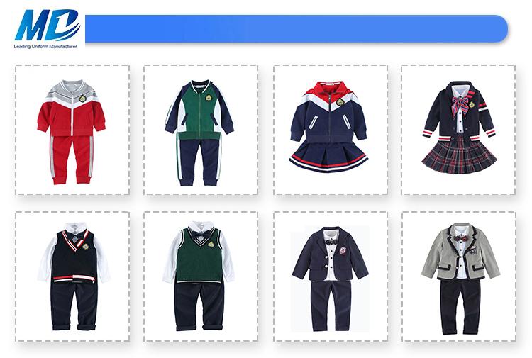 Wholesale Custom Kids School Uniforms Designs For Primary School, School Uniform