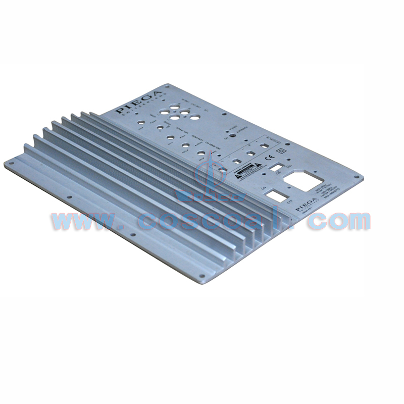 Aluminium speaker power amplifier module