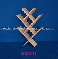 solid wood CD rack