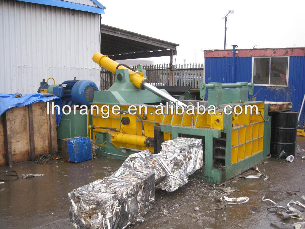 2013 hot sale automatic horizontal metal baler machine