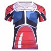 New pattern Dragon Ball Series Round Neck Short Sleeve Digital Printed armour T shirt for men