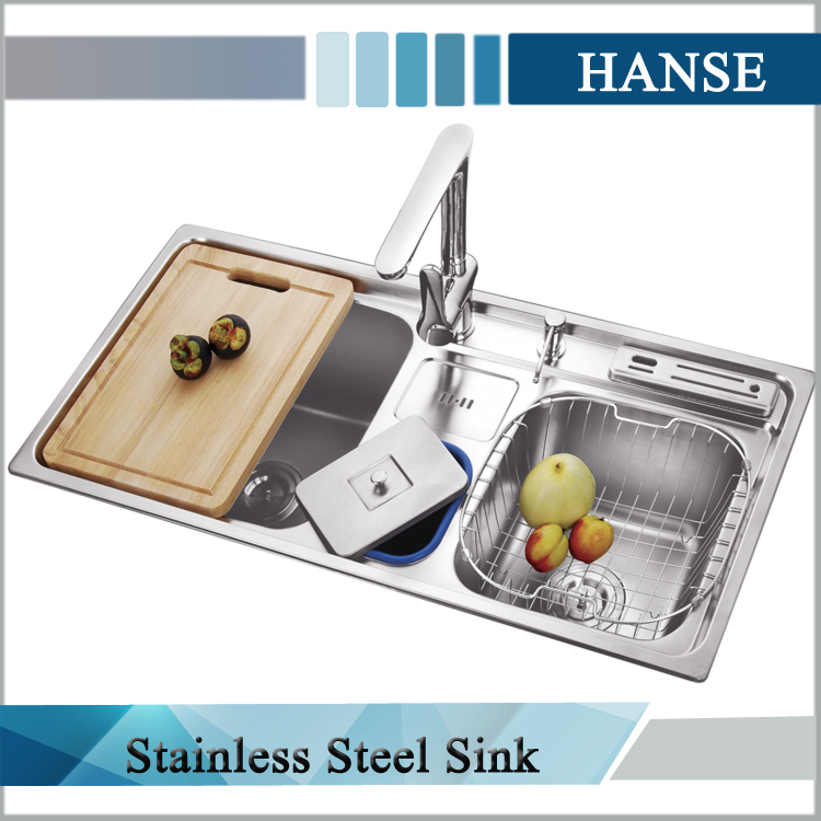 K F9045 Kitchen Sinks With Faucet 304 Sink Mat Finish