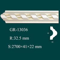 super quality shockproof discount trim and molding for modern house interior