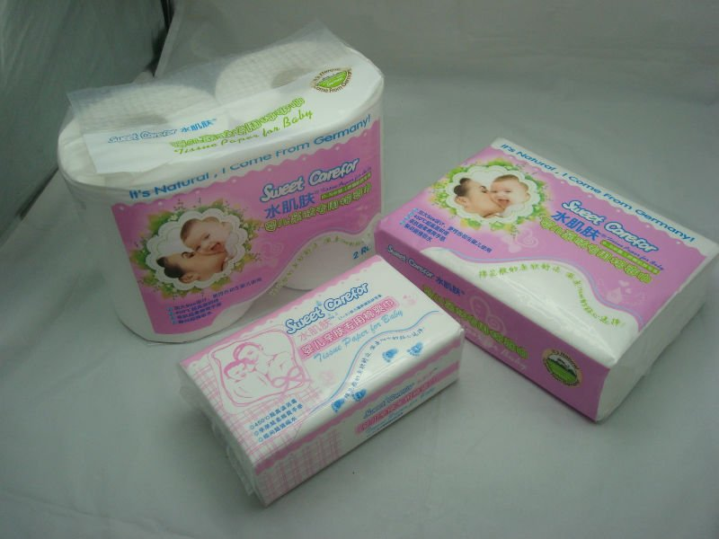 Sweet Carefor The most expensive facial tissue/ toilet paper series