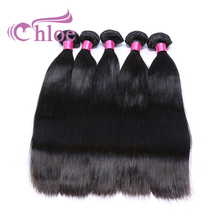 Chloe Indian Hair Raw Unprocessed Virgin Hair Extensions Double Drawn Weft Human Hair