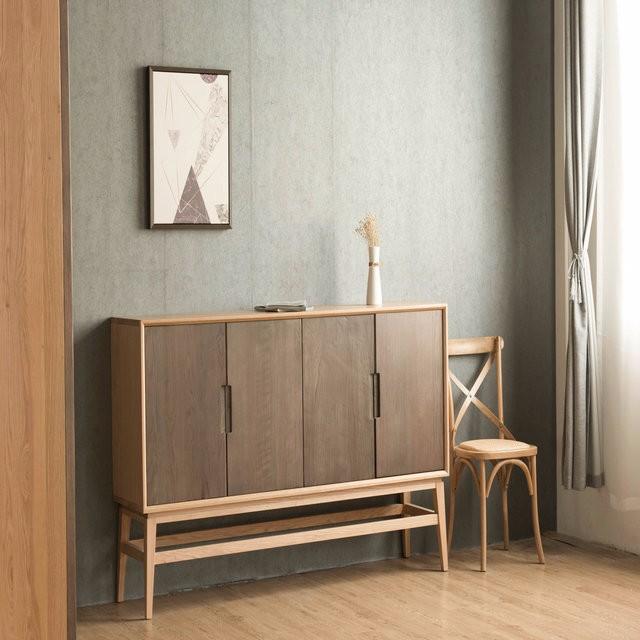 product-6 drawer file cabinetoak wood organizer furniture drawers vertical storage tool cabinet stor-2