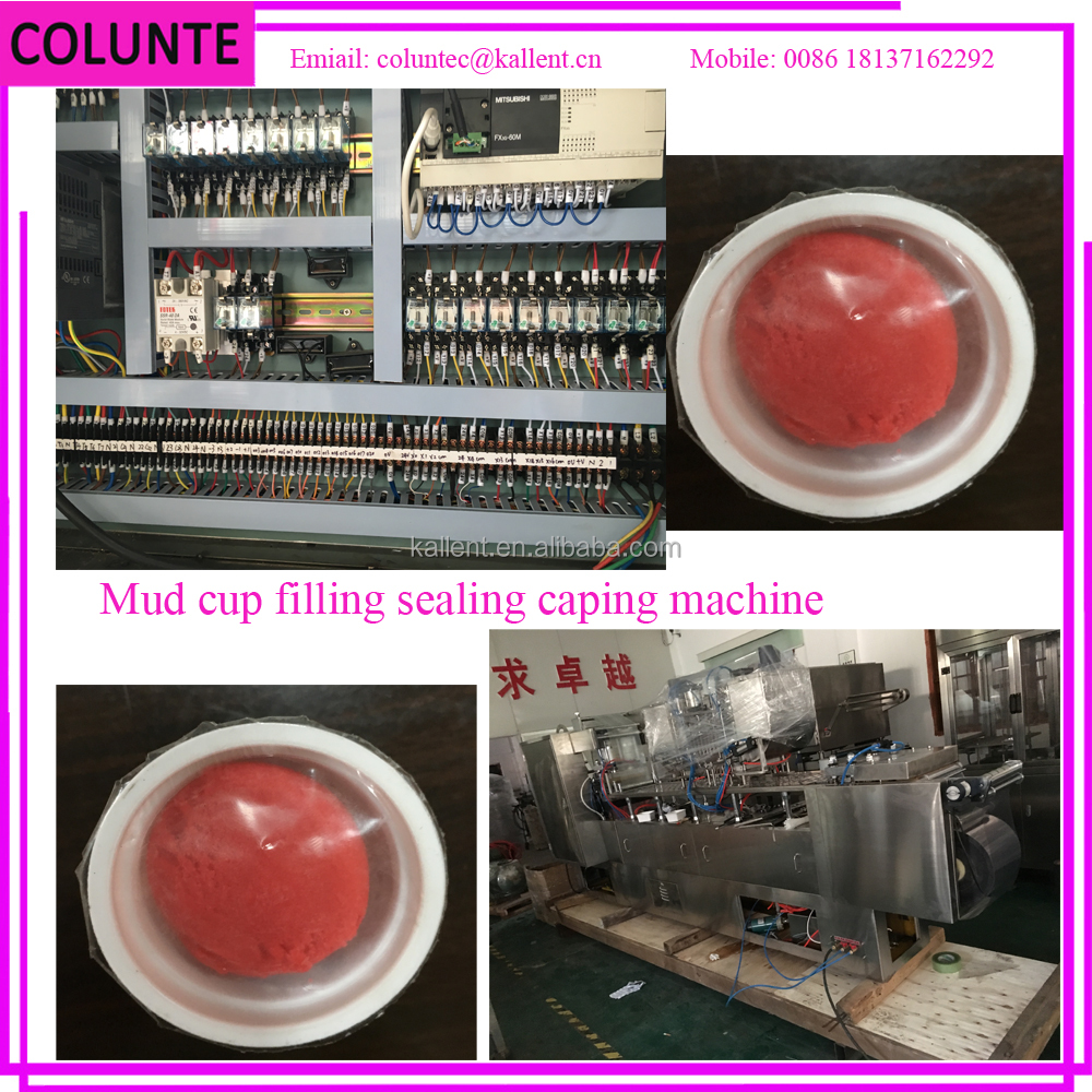 Colunte play clay packing machine, rubber dough packing machine plasticine making machine
