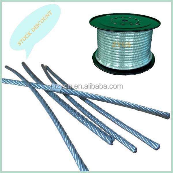 Stainless Steel Thin Wire Rope,6x7 6x19 Pvc Coated Steel Wire Rope ...