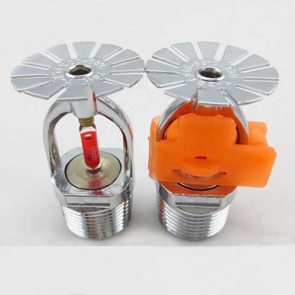 China Fire Sprinkler Head With Orange Cover China Fire