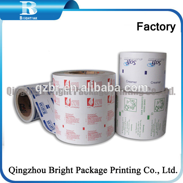 Silver Aluminum Foil Wrapping Material Reels for Package Use