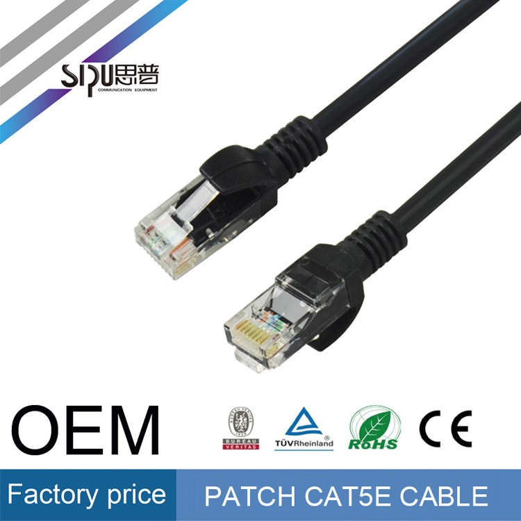 SIPU Fast Ethernet speeds 305m 4 pair utp cat5e network cables Standard CAT5 cable