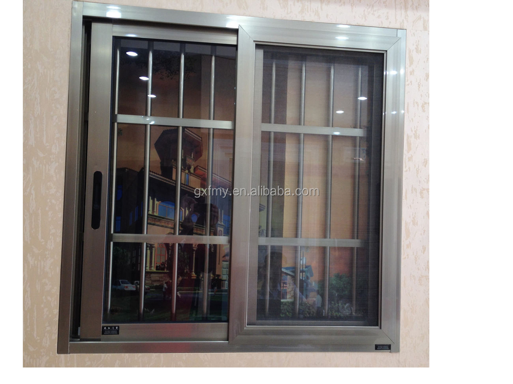 Fashion european design high quality factory price window for Window grills design in the philippines