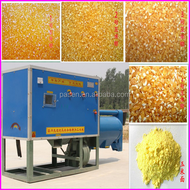 Small Food Factory Used Maize Grits Making Machine Maize Grit Mill