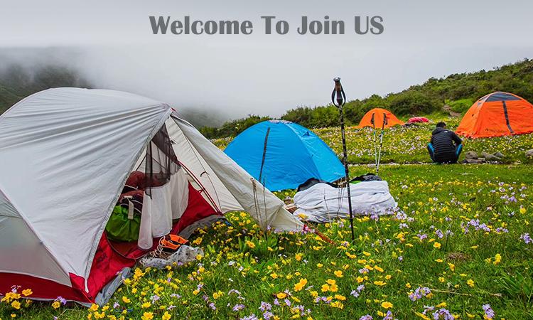 Ascenso 4 persona iglú equipo de camping tienda de campaña para la familia camping al aire libre