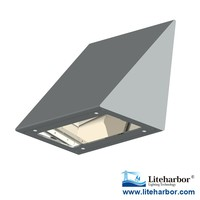 LED Wall Light AC85-225V Surface Mount Outdoor LED Triangle Wall Lamp 35W