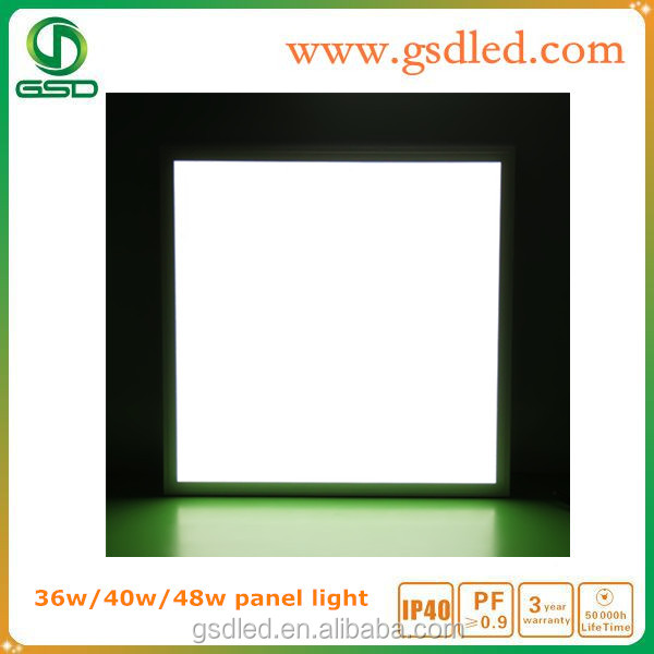 Indoor Residential Led Ceiling Panel Light 2x2 Square Led Panel ...