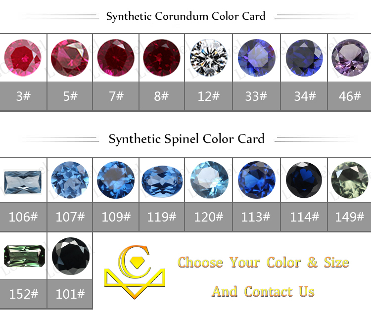 Competitive Price Synthetic Ruby Stone,Fake Gemstone For ...