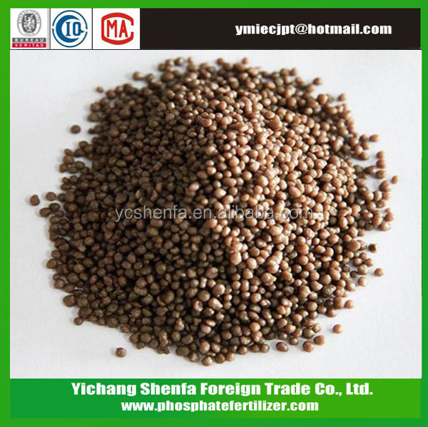 Brown Dap Fertilizer 18-46-0 Used In Agriculture