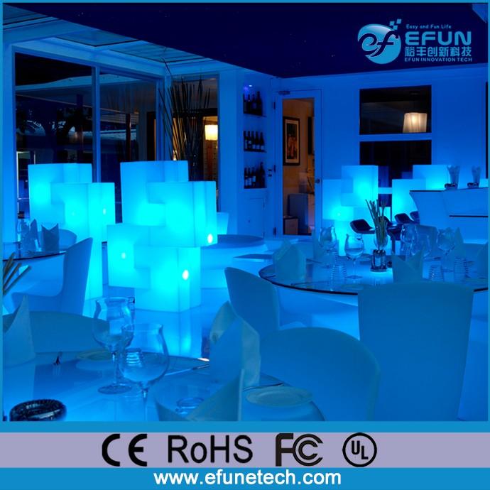 batterij aangedreven decoratieve draadloze led tafellamp bar led verlichting meubels