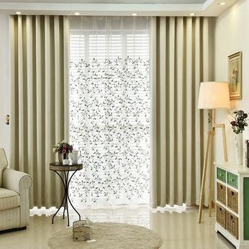 quality fashion design blackout m6617 mobile plastic home curtain