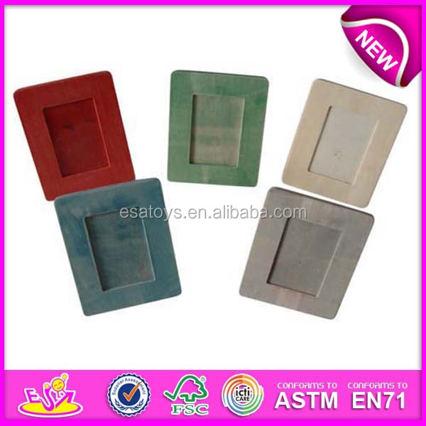 New Design Wholesale Beautiful Photo Picture Frames,Colorful Wooden ...