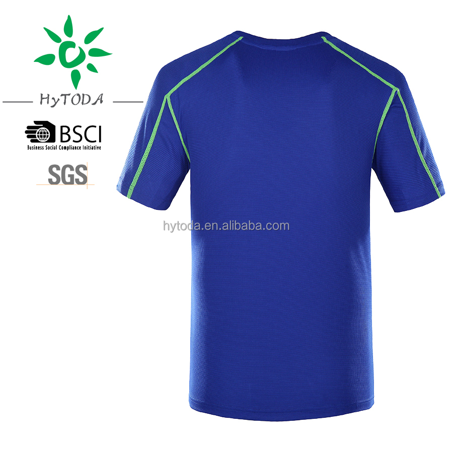 Men's ice T-shirt for quick dry, sports T-shirt